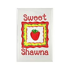 Sweet Shawna Rectangle Magnet