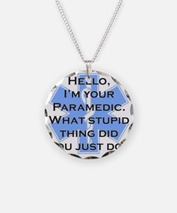 Im Your Paramedic Necklace