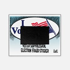I Voted, I Think Picture Frame