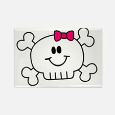 smiley_baby_pink Rectangle Magnet