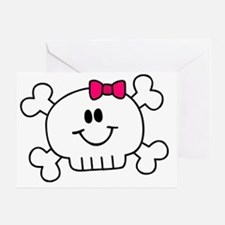 smiley_baby_pink Greeting Card