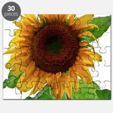 Sunflower in Full Bloom Puzzle