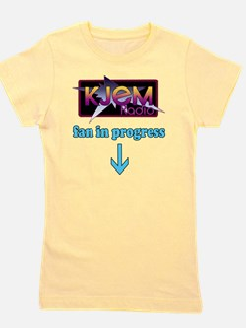 KJEM Radio fan in progress blue version Girl's Tee