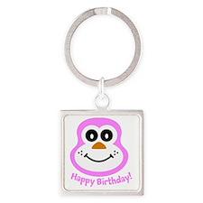 Sue: Happy Birthday! Square Keychain