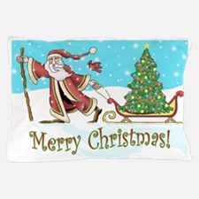 Santas Tree Pillow Case