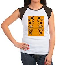 flip_flops_skulls3 Women's Cap Sleeve T-Shirt