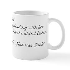 Team Jack back Mug