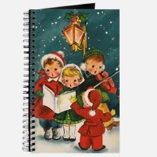 Vintage Christmas children Journal
