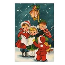 Vintage Christmas childre Postcards (Package of 8)