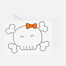 Skull Baby Greeting Card