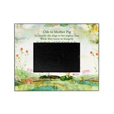Ode to Mother Pig Picture Frame