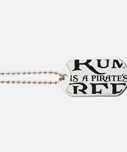 Rum is a Pirates BFF Dog Tags