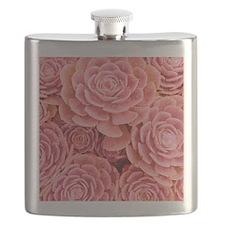 Pink Multiple Succulent Flask
