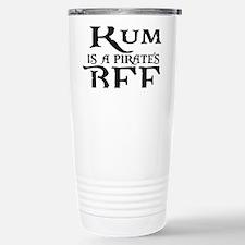Rum is a Pirates BFF Travel Mug