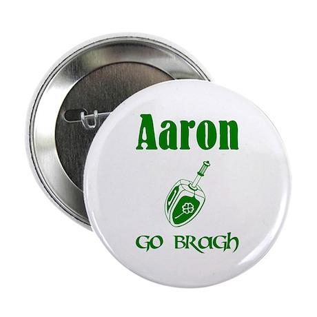Irish & Jewish Aaron Go Bragh Badge