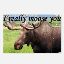 I really moose you Postcards (Package of 8)