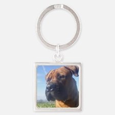Boerboel's do it better! Square Keychain