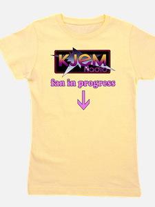 KJEM Radio fan in progress pink version Girl's Tee