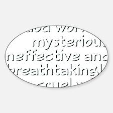 godworks1 Sticker (Oval)