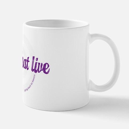 Girls That Live logo for dark colors Mug