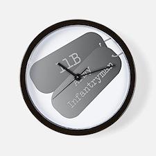 11B infantryman Wall Clock