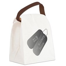 31B Army Military Police Canvas Lunch Bag