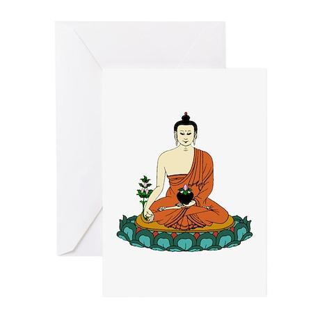 Buddha Shakyamuni Greeting Cards (6)