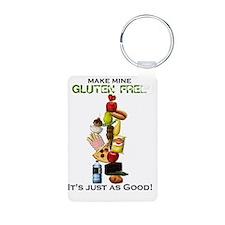 Make Mine Gluten Free - li Keychains