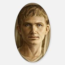 23x35 Emperor Augustus Sticker (Oval)