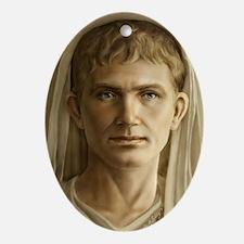 23x35 Emperor Augustus Oval Ornament