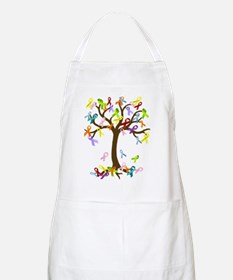 Ribbon Tree Apron