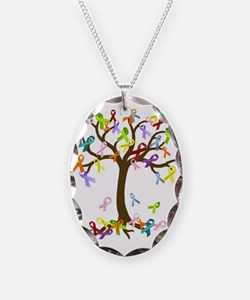 Ribbon Tree Necklace