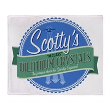 Scottys M-Class Dilithium Crystals Throw Blanket