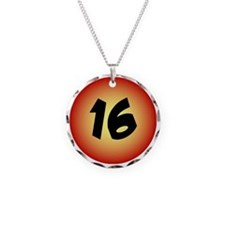 16th Birthday Pin for Guys Necklace