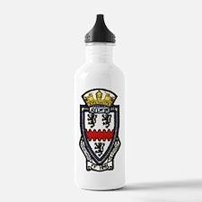 uss aylwin ff patch tr Water Bottle
