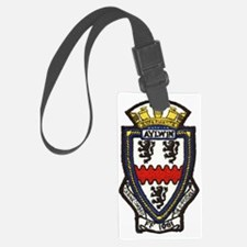 uss aylwin ff patch transparent Luggage Tag