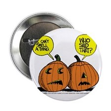 "Halloween Daddys Home Pumpkins 2.25"" Button"