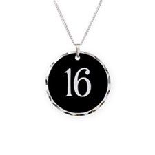 Sweet 16 Black and White Ear Necklace