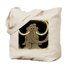 Woolly Mammoth Tile Tote Bag