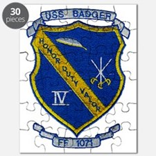 uss badger ff patch transparent Puzzle