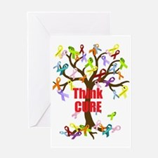 Think CURE Greeting Card
