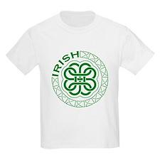 Irish Knot Work Shamrock T-Shirt