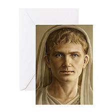 Emperor Augustus Journal Greeting Card