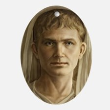 Emperor Augustus Journal Oval Ornament
