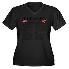 TG5StatsFron Women's Plus Size Dark V-Neck T-Shirt