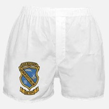 uss badger de patch transparent Boxer Shorts