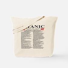 TG5StatsFrontBlackTrans-e Tote Bag