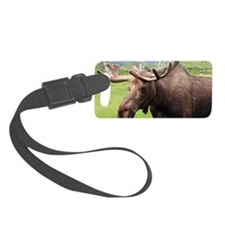 Moose Luggage Tag