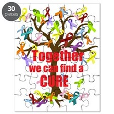 Together we can find a CURE Puzzle