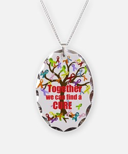 Together we can find a CURE Necklace